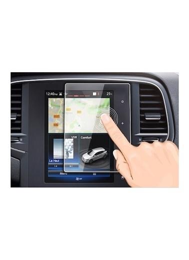 Techmaster Renault Koleos Navigasyon Temperli Ekran Koruyucu Renkli